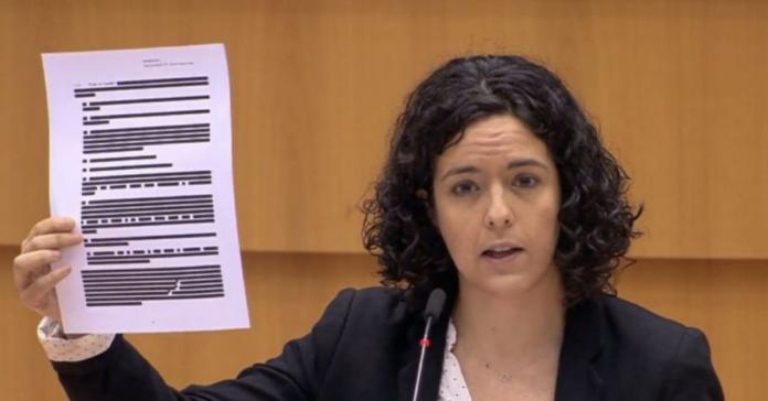 L'europarlamentare Manon Aubry