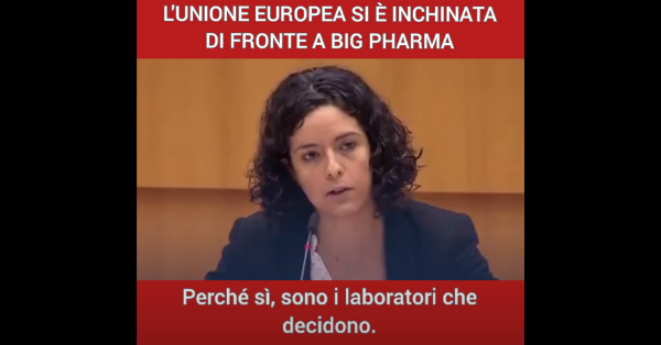 L'intervento dell'eurodeputata Manon Aubry