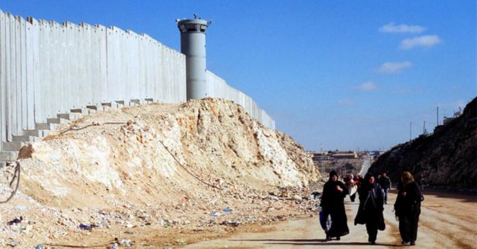 Il muro israelo-palestinese