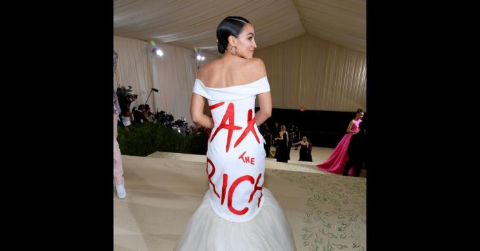 Alexandria Ocasio-Cortez - Tax the rich