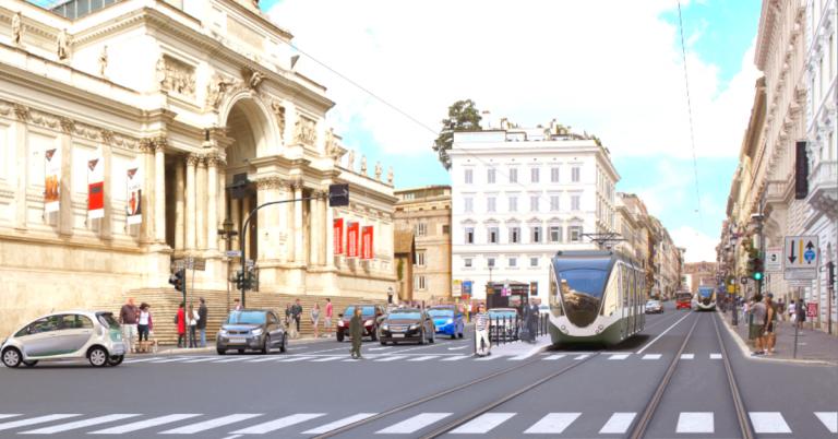Il tram Termini – Vaticano, un desiderio necessario