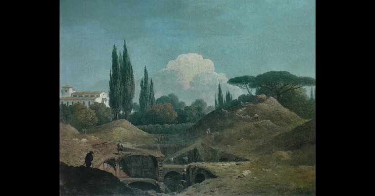 La domus scomparsa di villa Negroni